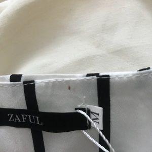 Zaful Dresses - Zaful two piece striped set